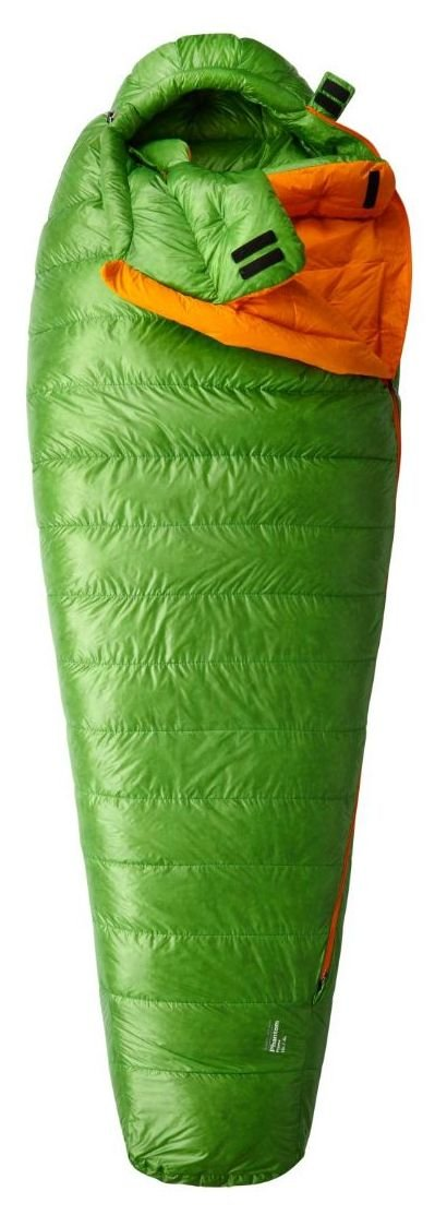 An image of Mountain Hardwear Phantom Flame Nylon Sleeping Bag