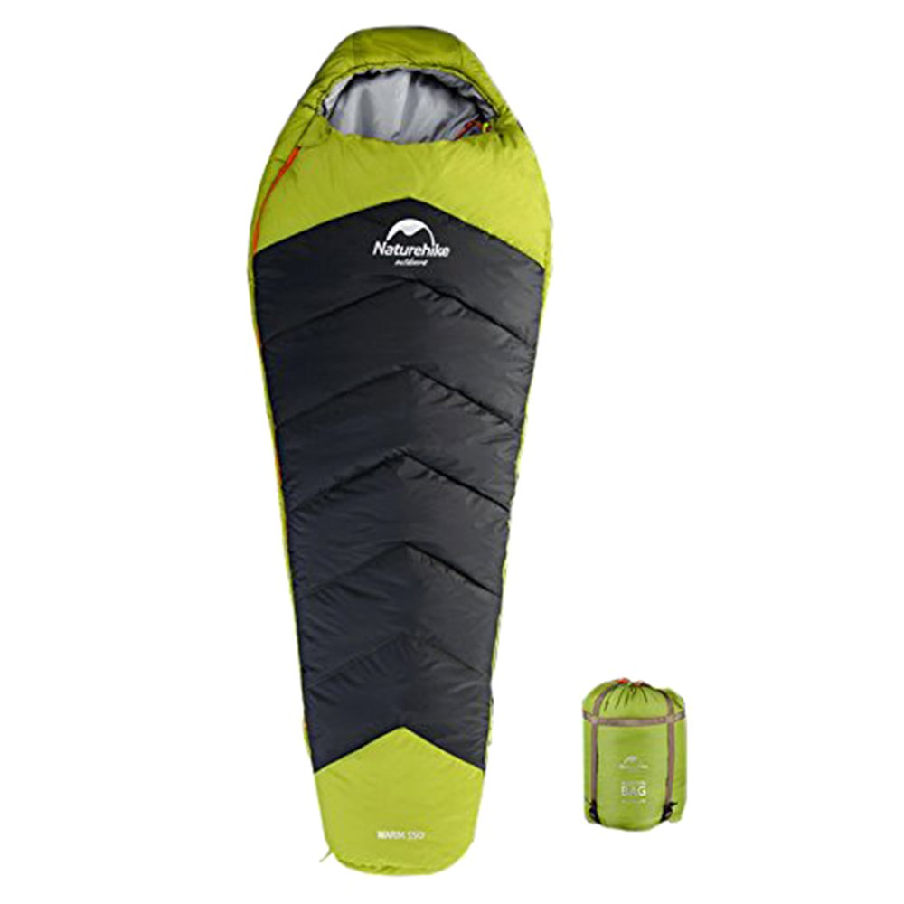An image of Naturehike Men's Single Lightweight Mummy Sleeping Bag | Expert Camper