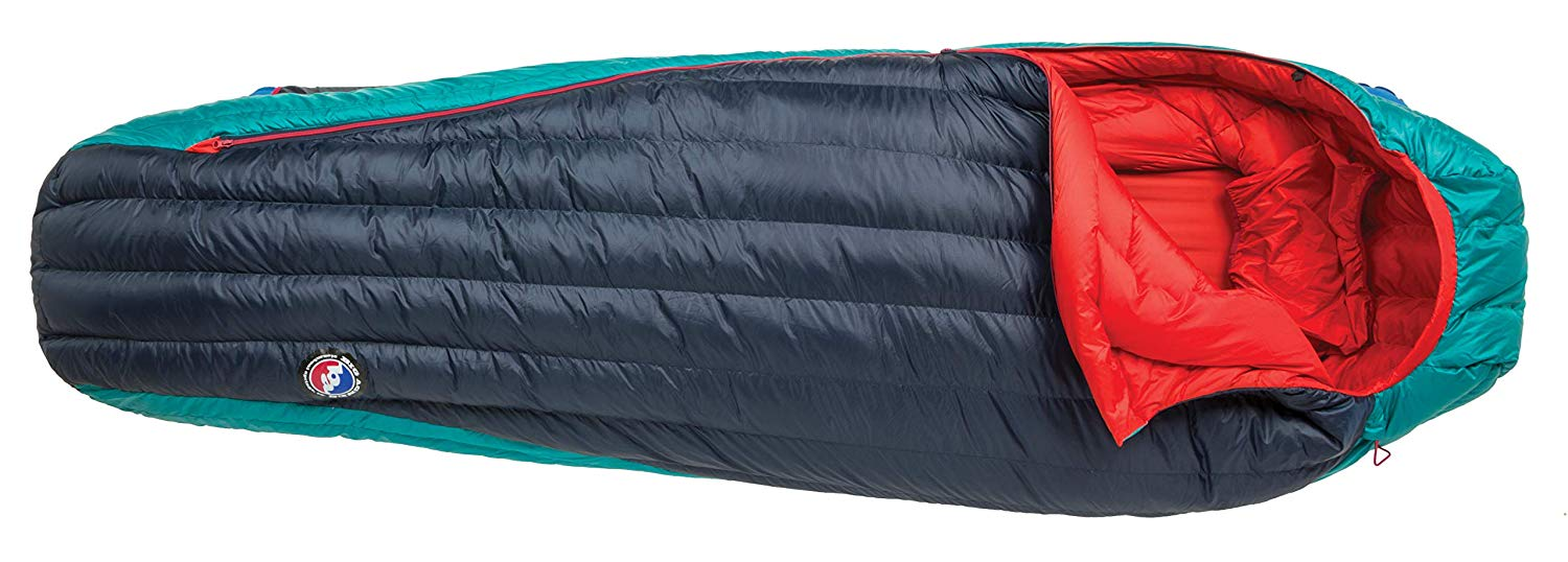 An image of Big Agnes Daisy Mae Women's 0 Degree Polyester Taffeta Sleeping Bag