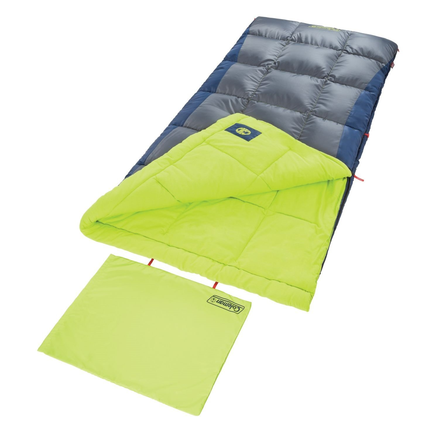 An image related to Coleman Dexter Point 2000018134 Men's Polyester Sleeping Bag