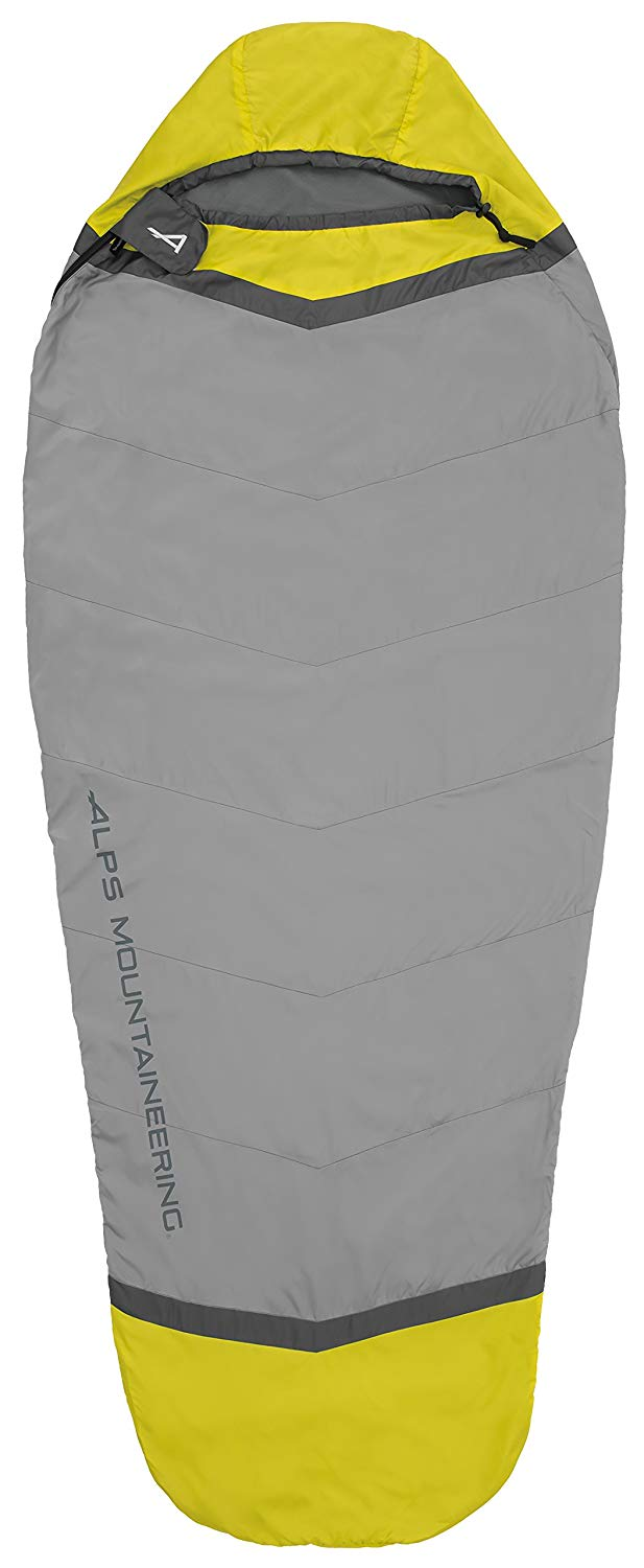 An image of Alps Mountaineering Twilight 4900021 Fleece Sleeping Bag