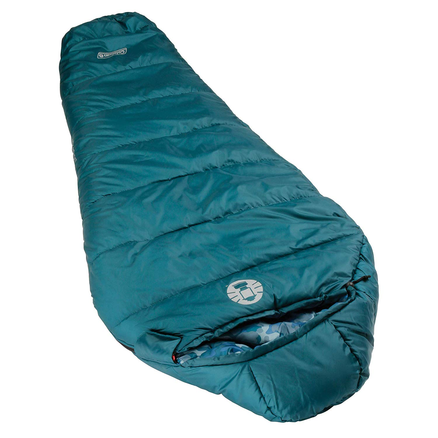 An image related to Coleman 2000019649 Kids 30 Degree Polyester Sleeping Bag