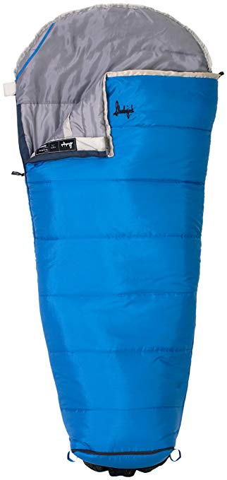 An image related to Slumberjack Go-N-Grow 52729311SR Boys Polyester Sleeping Bag