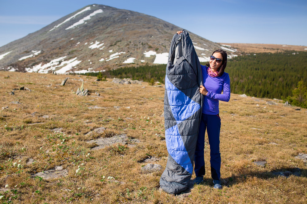 An image related to Top Polyester Camping Sleeping Bags for 2019