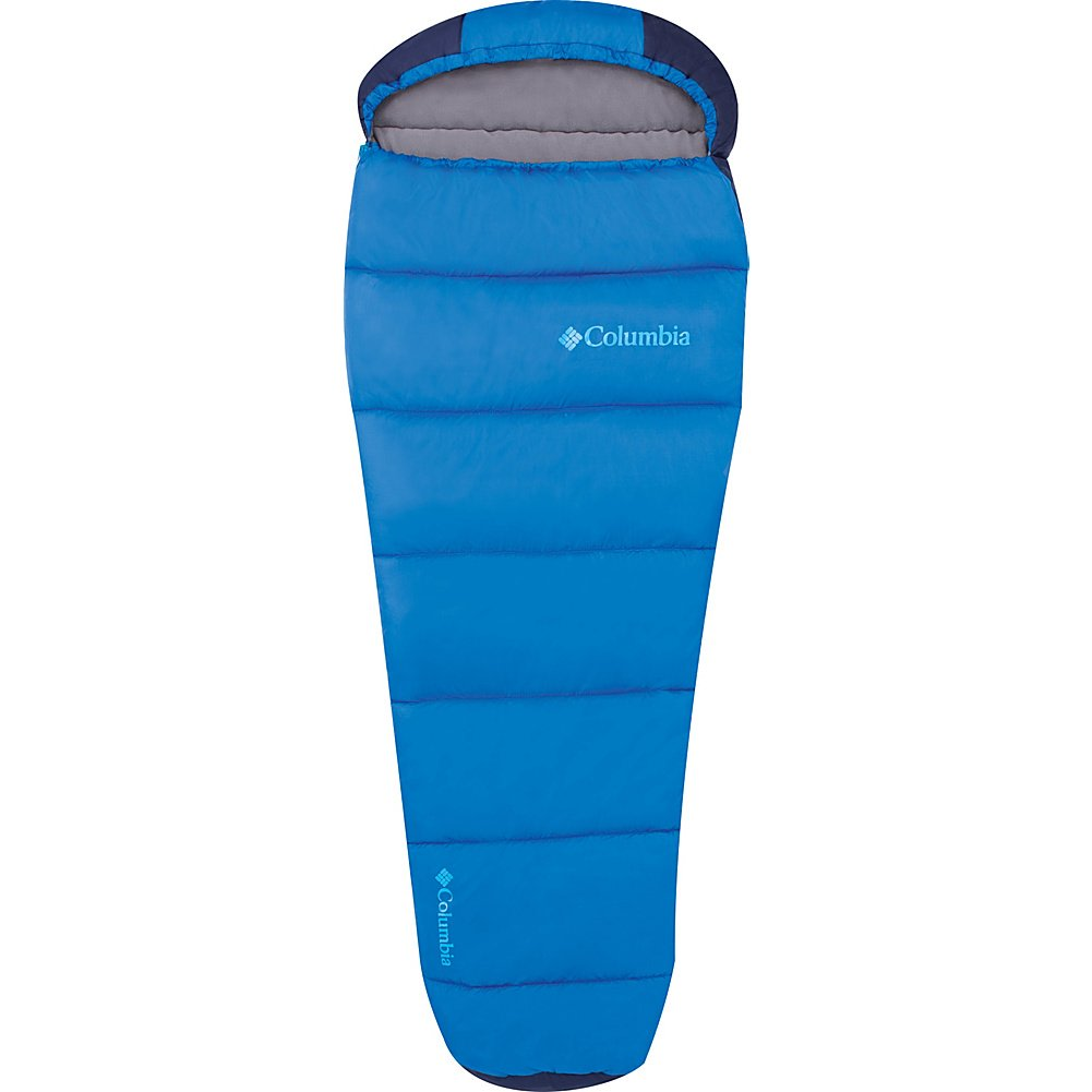 An image of Columbia Boys 30 Degree Polyester Fleece Sleeping Bag
