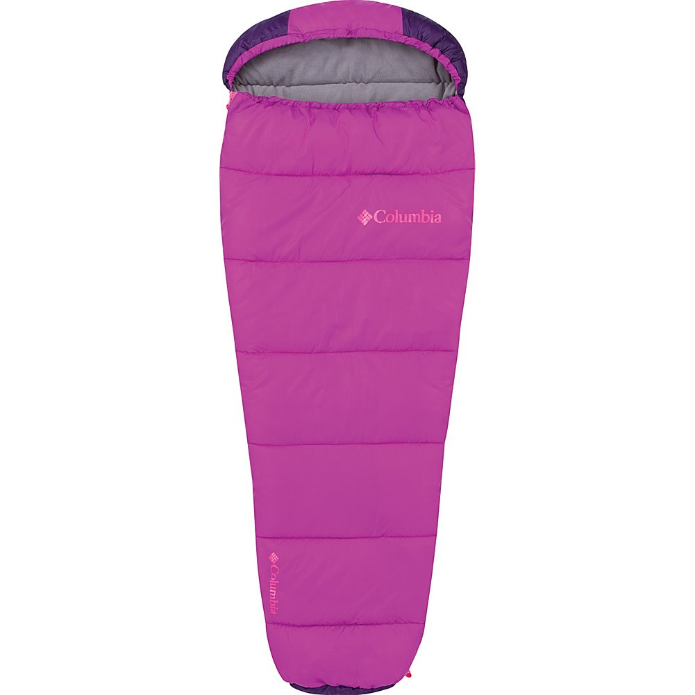 An image of Columbia Sportswear Girls 30 Degree Polyester Fleece Sleeping Bag