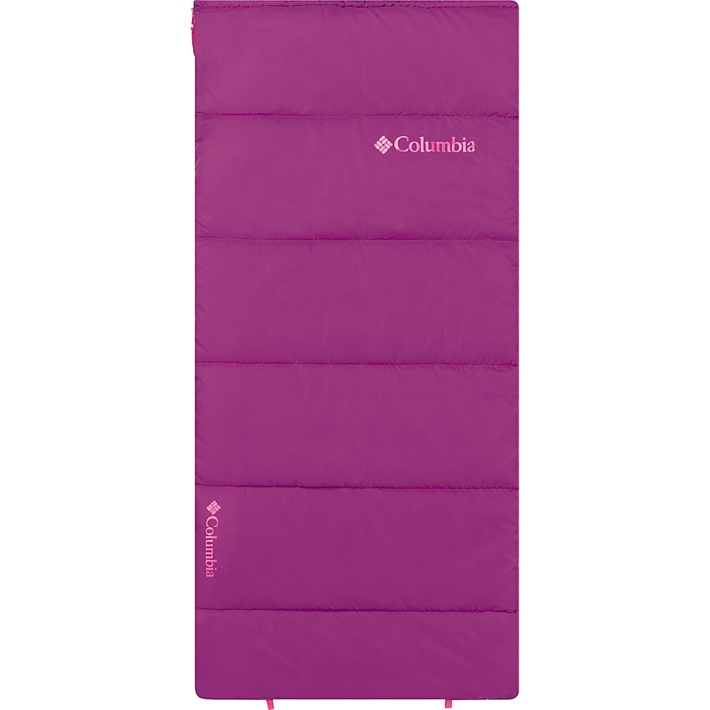 An image of Columbia Sportswear Girls 40 Degree Polyester Fleece Sleeping Bag | Expert Camper