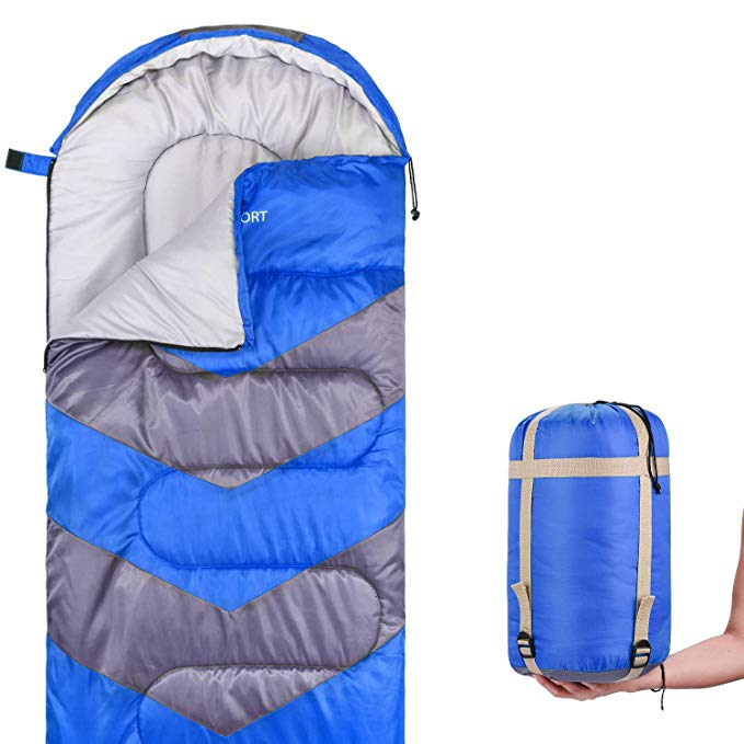 An image of Abco Tech ABC2096 Boys 20 Degree Polyester Sleeping Bag