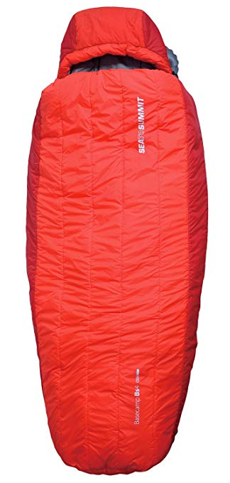An image of Sea to Summit Basecamp BT 4 098R-Parent Men's Polyester Sleeping Bag