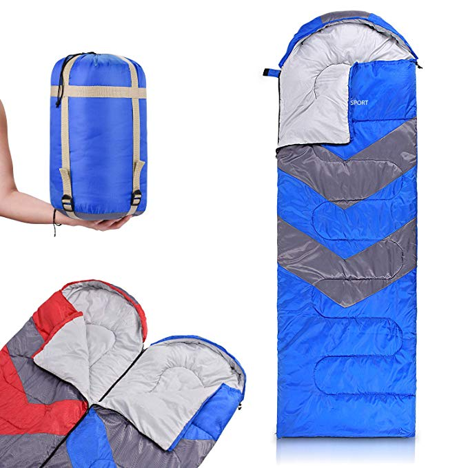 An image of Abco Tech Men's 20 Degree Polyester Sleeping Bag