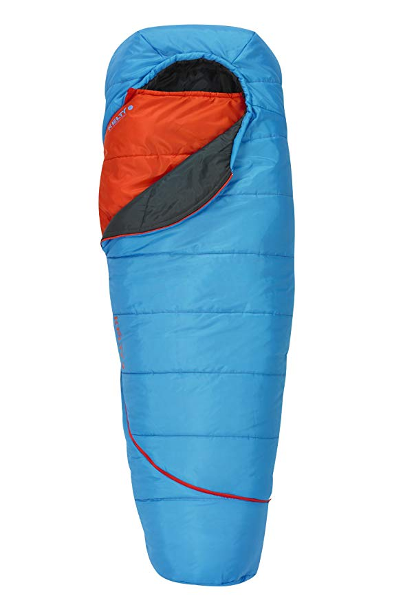 An image of Kelty Tru.Comfort 35420316SR Kids 30 Degree Polyester Taffeta Sleeping Bag