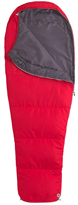 An image of Marmot NanoWave 45 21460-6278-Reg-LFT Men's 40 Degree Polyester Taffeta Sleeping Bag | Expert Camper