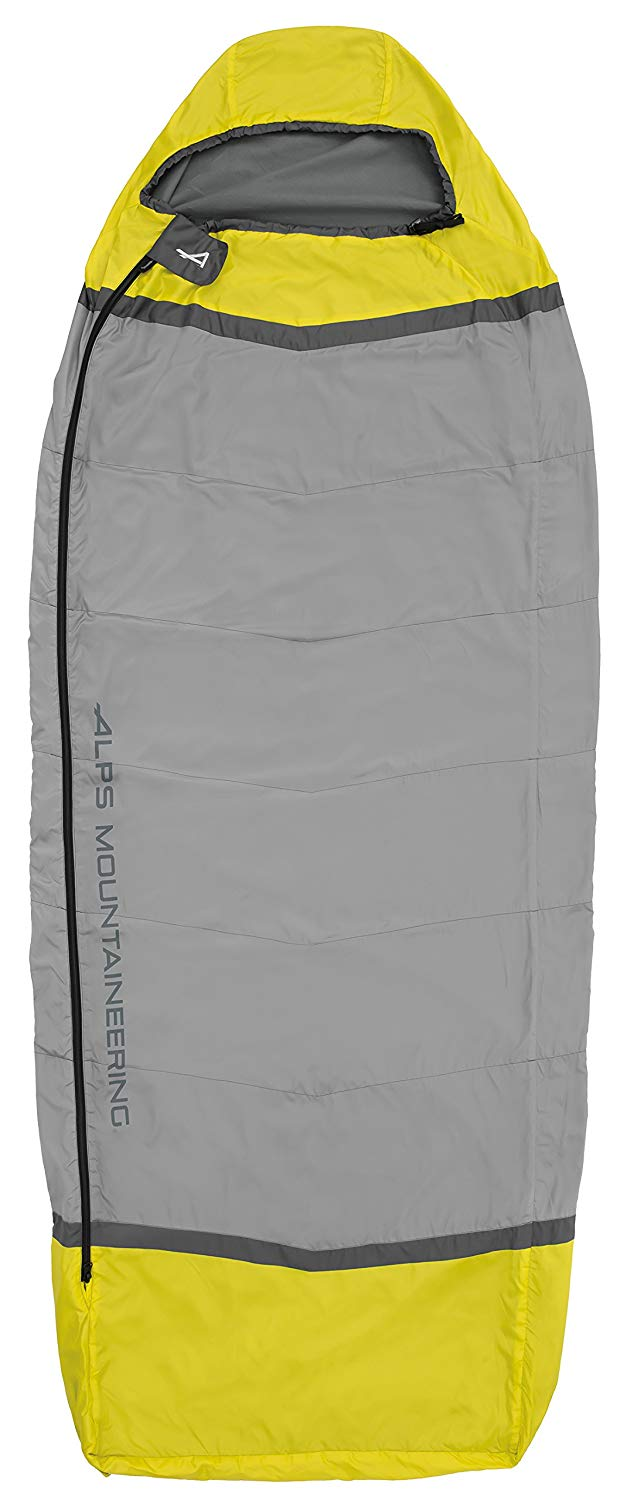 An image of Alps Mountaineering Sundown 4900022 Fleece Sleeping Bag