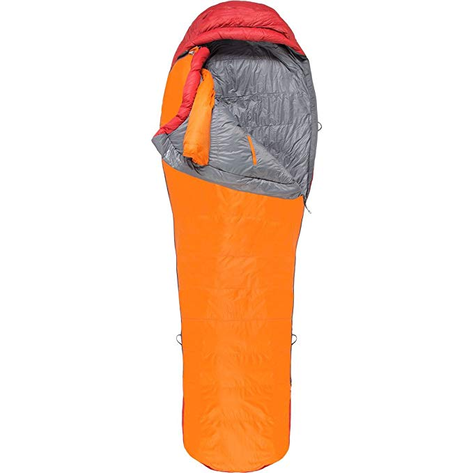 An image related to Marmot Never Summer Single Nylon 6 Ft. 6 in. Mummy Sleeping Bag