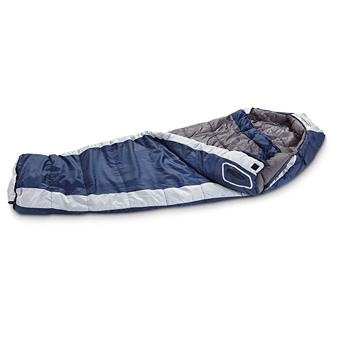 An image of Kelty Ridgeway Men's 0 Degree Polyester Sleeping Bag