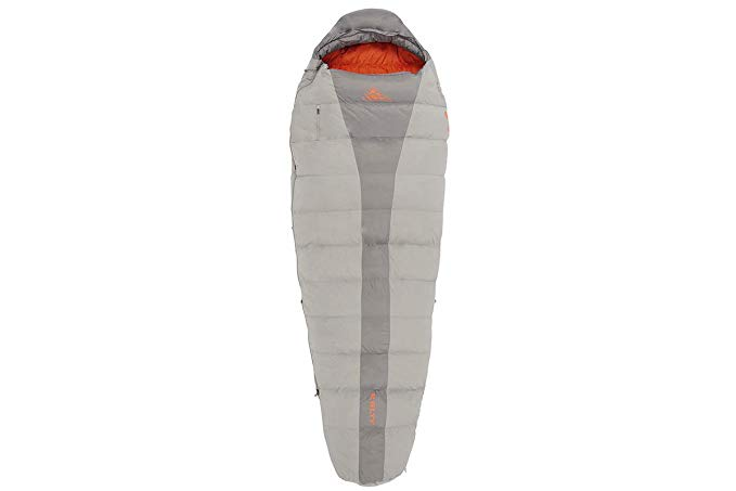 An image of Kelty Cosmic 3 Season Single Polyester Taffeta 6 Ft. Mummy Sleeping Bag