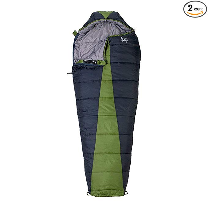 An image of Slumberjack Latitude 20 Degree Polyester Taffeta Sleeping Bag