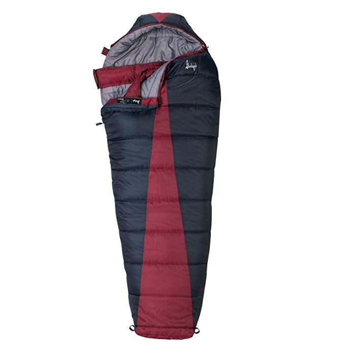 An image related to Slumberjack Latitude 51723211RR Men's Polyester Taffeta Sleeping Bag