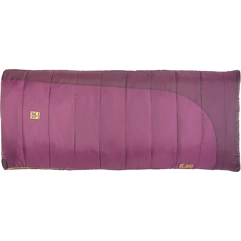 An image of Slumberjack Jenny 20 Women's 20 Degree Polyester Taffeta Sleeping Bag