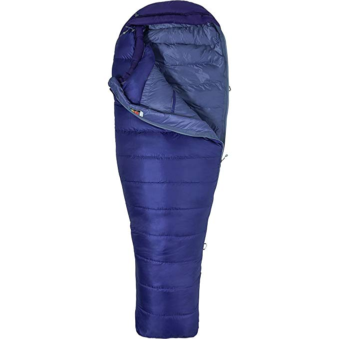 An image of Marmot Women's Ouray Women's Down Sleeping Bag