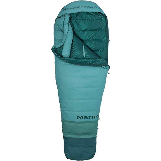 An image of Marmot Angel Fire TL 39190-3625-L Women's Sleeping Bag | Expert Camper