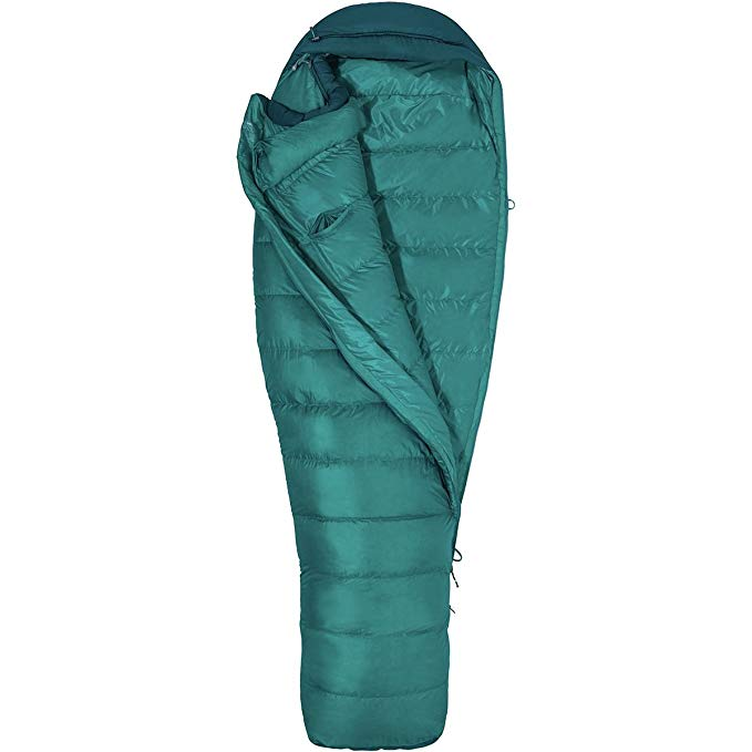 An image of Marmot Angel Fire Women's 30 Degree Sleeping Bag