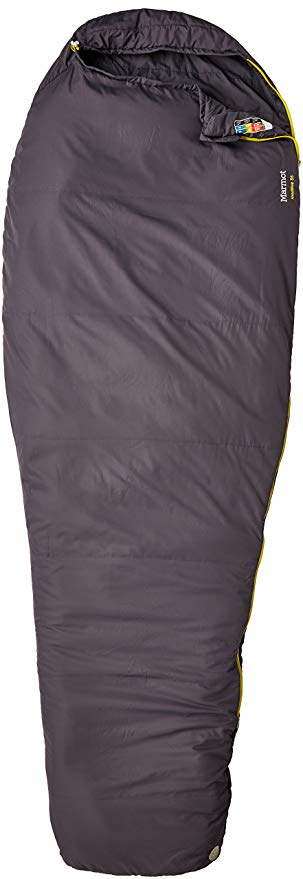 An image related to Marmot NanoWave 21490-1105-L 50 Degree Polyester Sleeping Bag