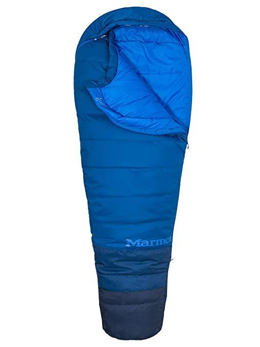 An image of Marmot Trestles 15 TL 39700-3600-L Sleeping Bag | Expert Camper