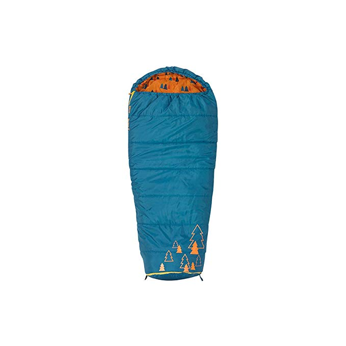 An image of Kelty Big Dipper 35416214SR Kids 30 Degree Sleeping Bag | Expert Camper