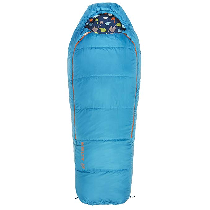 An image of Kelty Woobie Kids 30 Degree Polyester Pongee Sleeping Bag