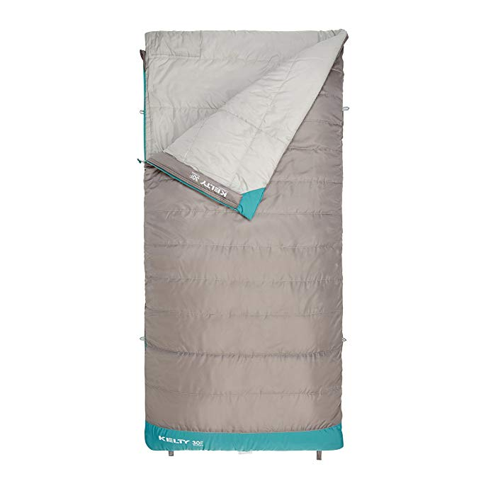 An image of Kelty Callisto 35417817RR Women's 30 Degree Polyester Taffeta Sleeping Bag