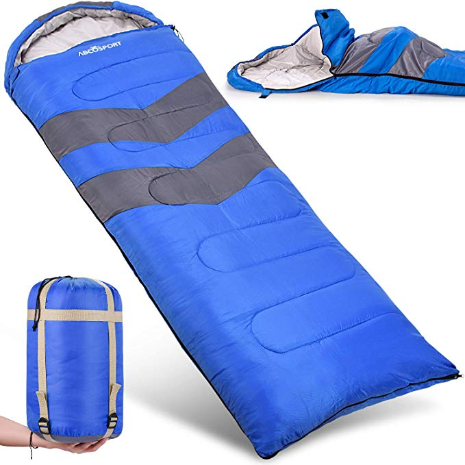 An image of Abco Tech 20 Degree Polyester Sleeping Bag | Expert Camper