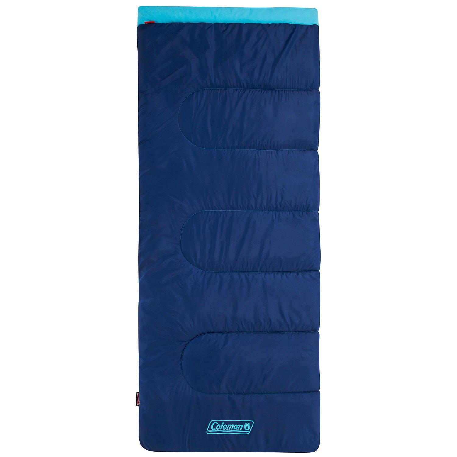 An image related to Coleman Heaton Peak 2000020996 Cotton Flannel Sleeping Bag