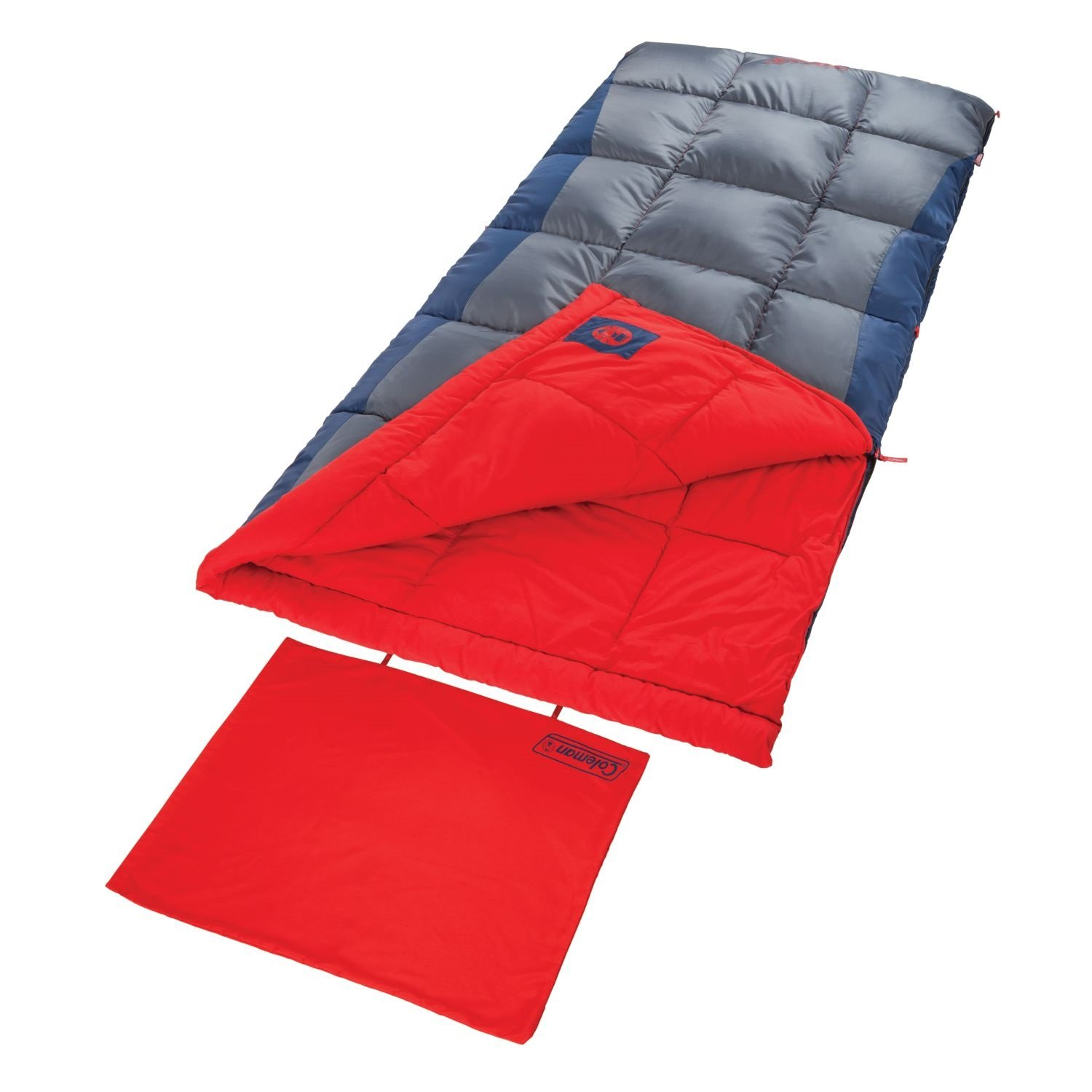 An image related to Coleman Heaton Peak 2000018510 Men's 50 Degree Sleeping Bag