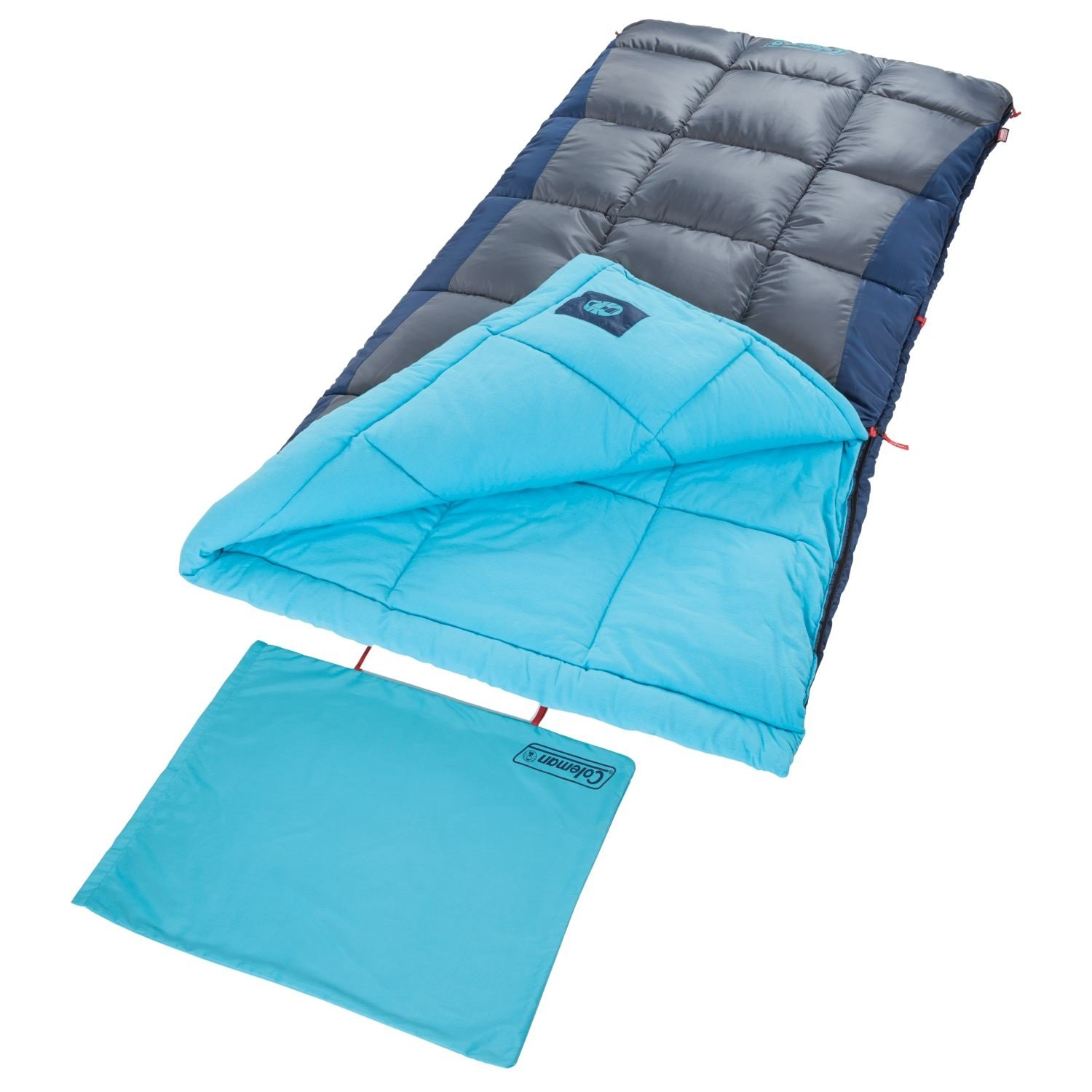 An image related to Coleman Heaton Peak 30 Men's Cotton Flannel Sleeping Bag