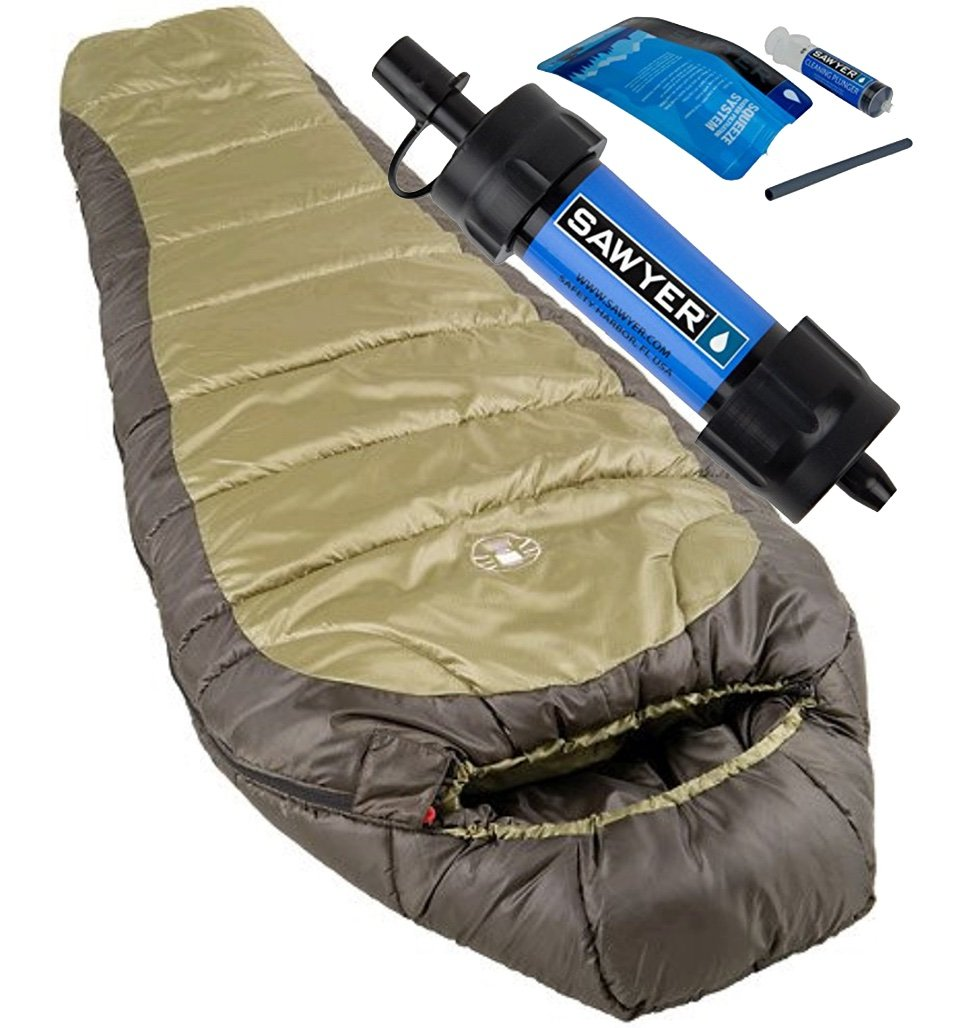 An image related to Coleman North Rim Men's Polyester Sleeping Bag