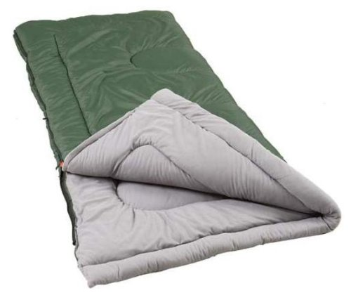 An image of Coleman Alabaster 2000000076 Men's Poly-Flannel Sleeping Bag