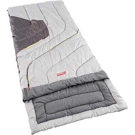 An image of Coleman Adjustable Comfort Men's 30 Degree Polyester Sleeping Bag | Expert Camper