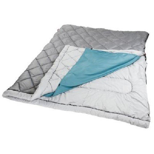 An image of Coleman The Tandem Polyester Sleeping Bag