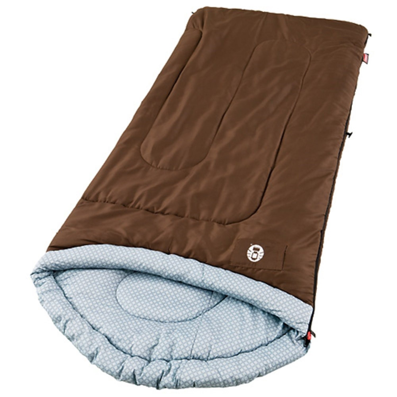 An image of Coleman Willow Creek 2000004446 40 Degree Polyester Sleeping Bag | Expert Camper