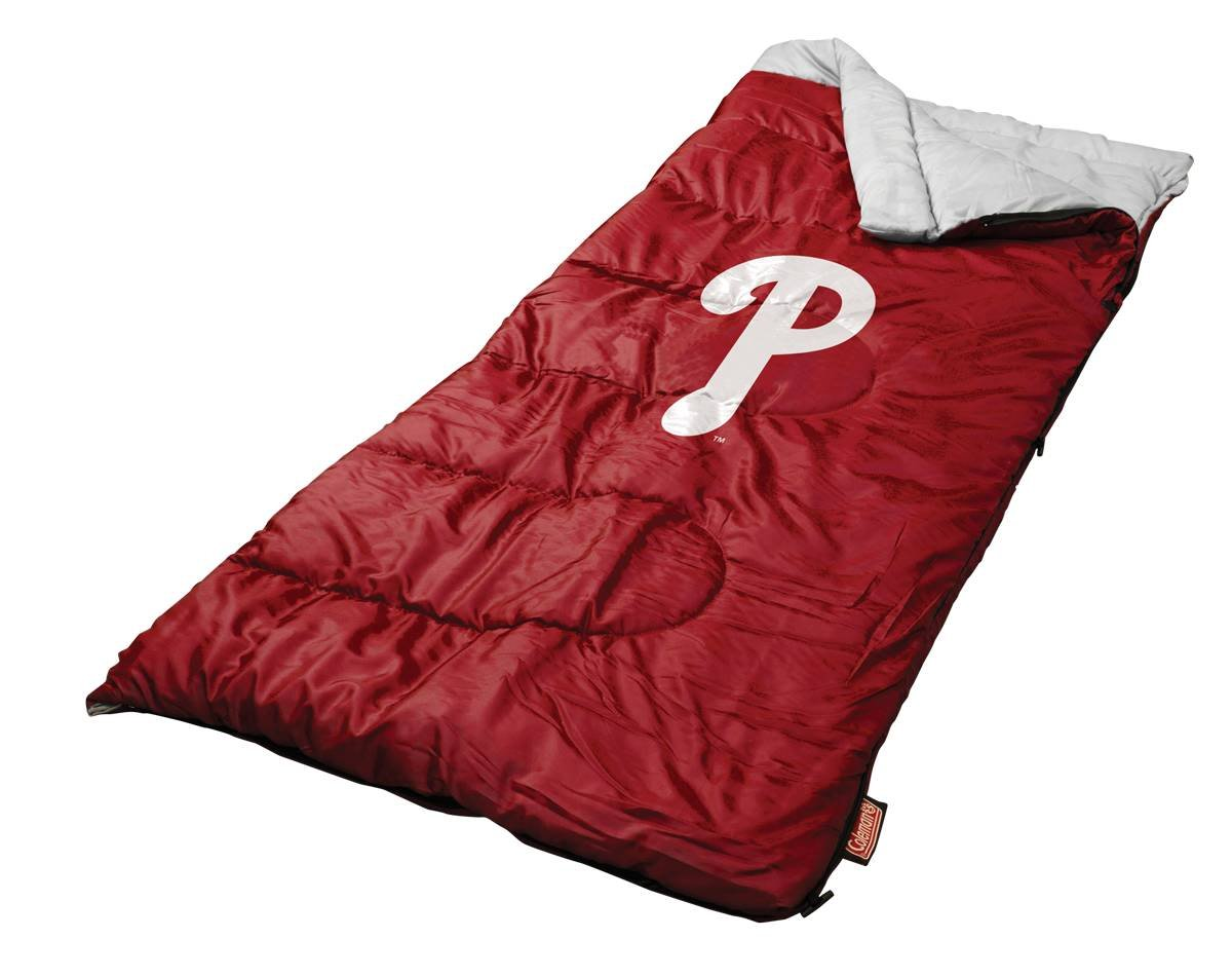An image of Coleman MLB 3700020111 50 Degree Sleeping Bag