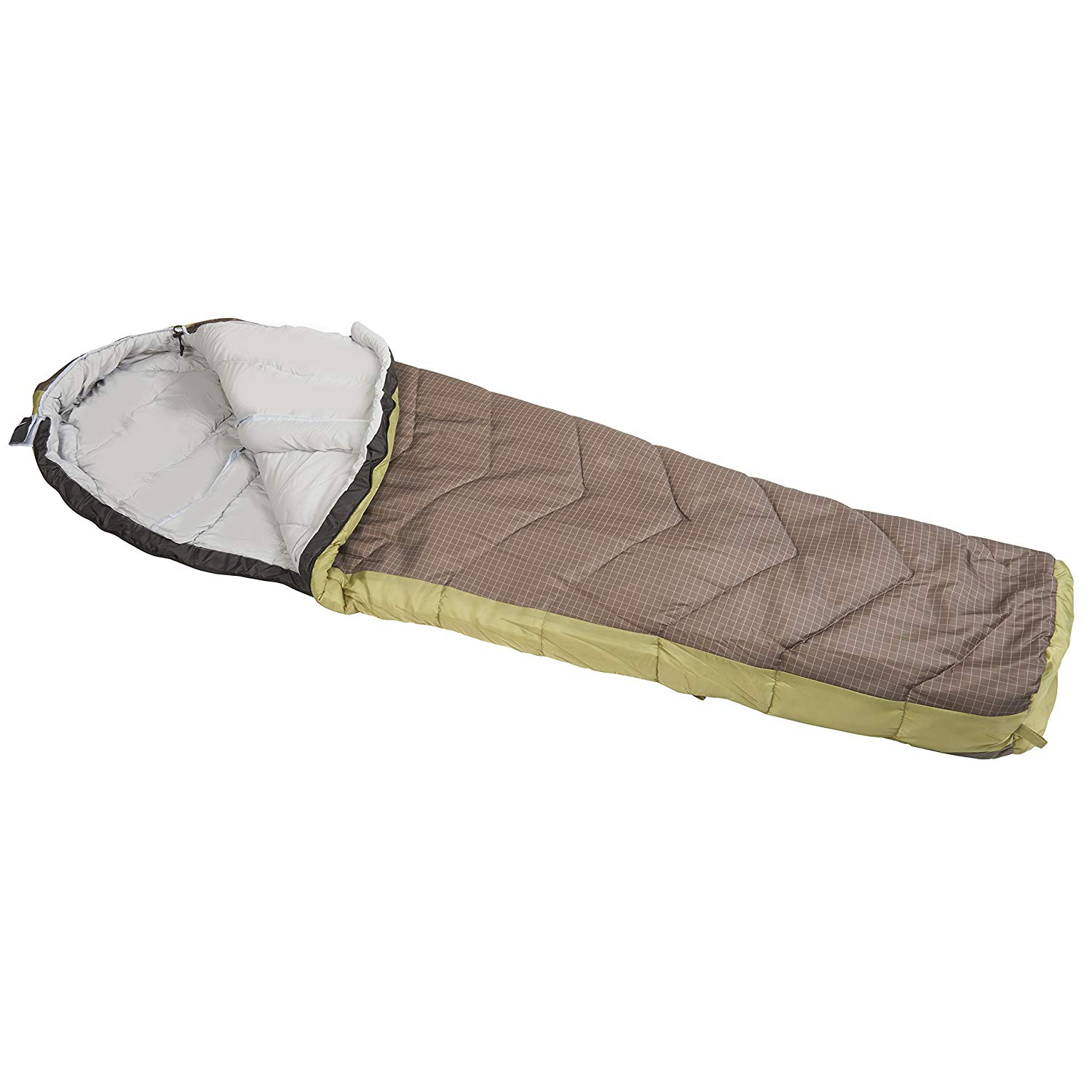 An image of Suisse Sport Alpine 5RR4302RN Men's 0 Degree Polyester Sleeping Bag