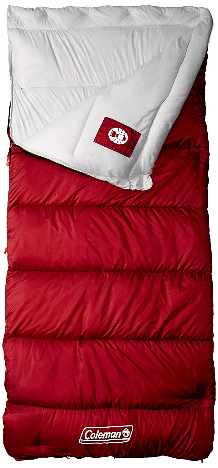 An image related to Coleman Aspen Meadows 2000018118 Men's 0 Degree Sleeping Bag