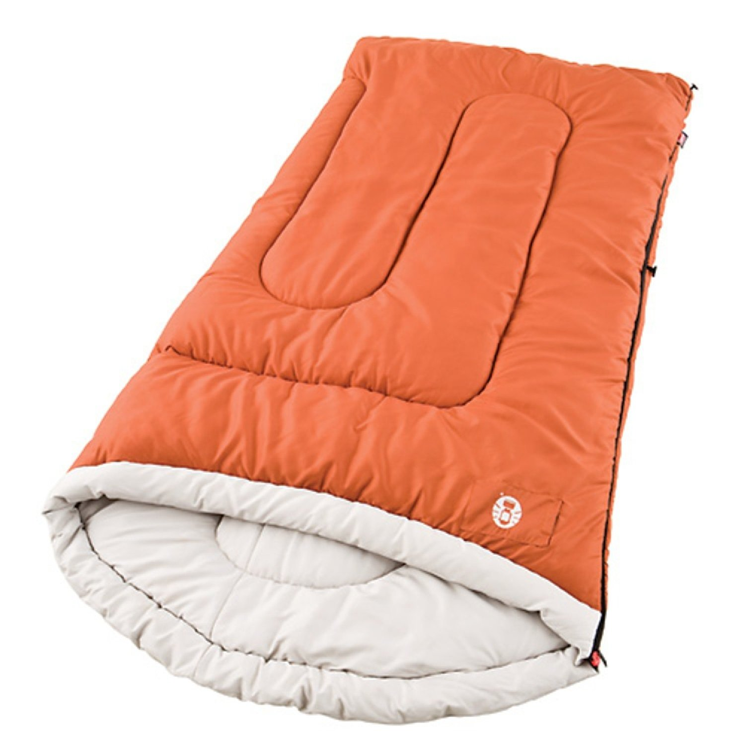 An image of Coleman Sabine 2000004458 Men's 20 Degree Polyester Sleeping Bag