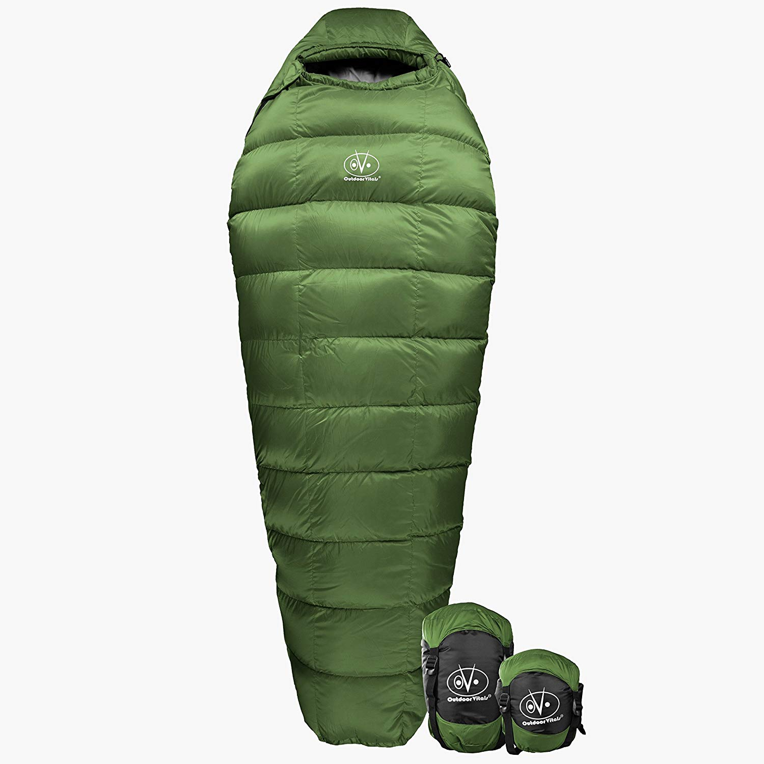 An image related to Outdoor Vitals Summit 0 Degree Down Sleeping Bag