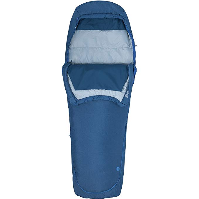 An image of Marmot Kona 20 Single Polyester Mummy Sleeping Bag | Expert Camper