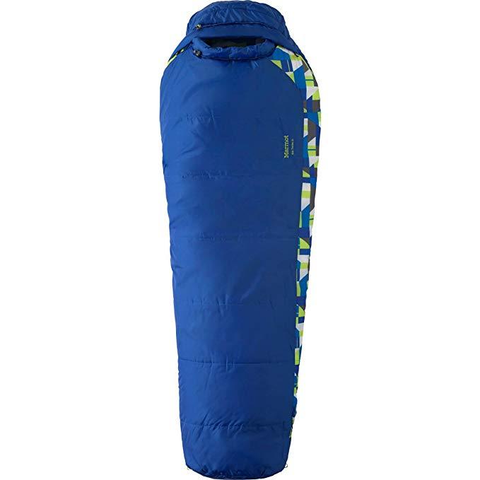 An image of Marmot Trestles 30 21520-2059 Kids Sleeping Bag