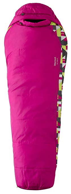 An image of Marmot Trestles 30 21520-6405 Kids Sleeping Bag | Expert Camper
