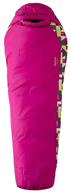 An image of Marmot Trestles 30 21520-6405 Kids Sleeping Bag