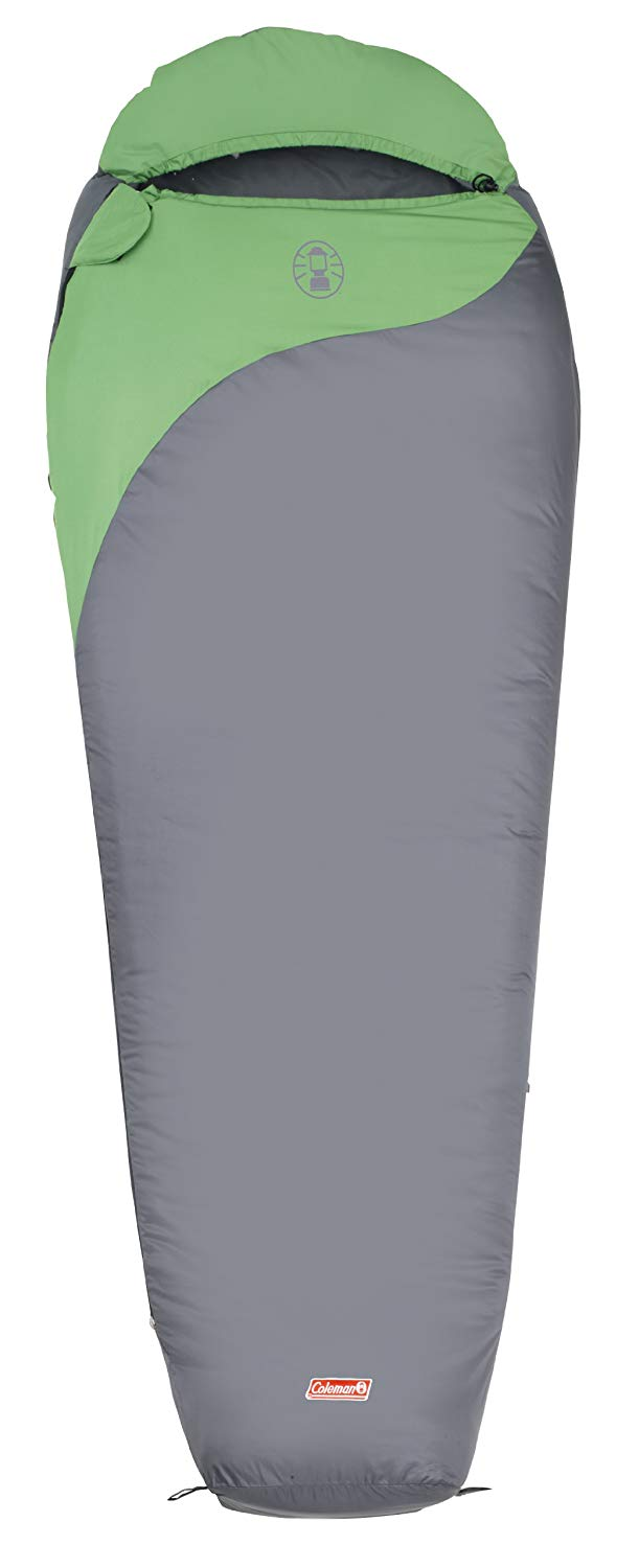 An image related to Coleman 2000009574 Men's 50 Degree Polyester Sleeping Bag